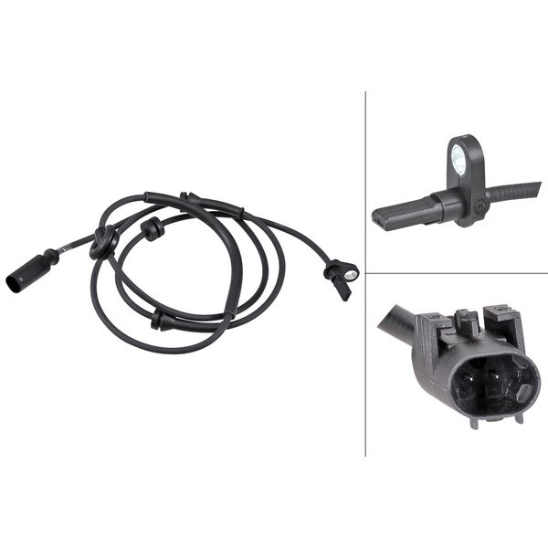 ABS-sensor achterzijde, links of rechts ALFA ROMEO 156 2.4 JTD