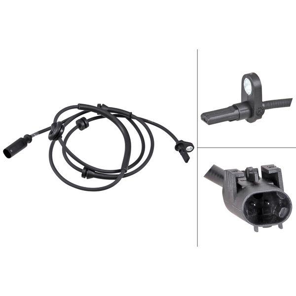 ABS-sensor achterzijde, links of rechts ALFA ROMEO 156 Sportwagon 2.4 JTD