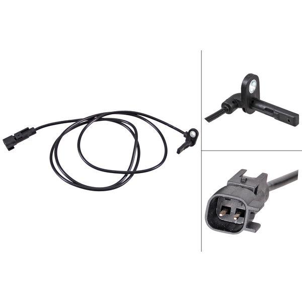 ABS-sensor achterzijde, links of rechts SAAB 9-5 2.0 TTiD XWD