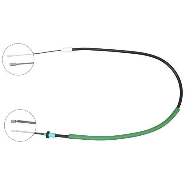 Trekkabel, parkeerrem links RENAULT CLIO II 1.4