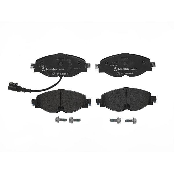 Remblokkenset voorzijde Brembo premium VW VOLKSWAGEN PASSAT (3G2, CB2) 2.0 TDI