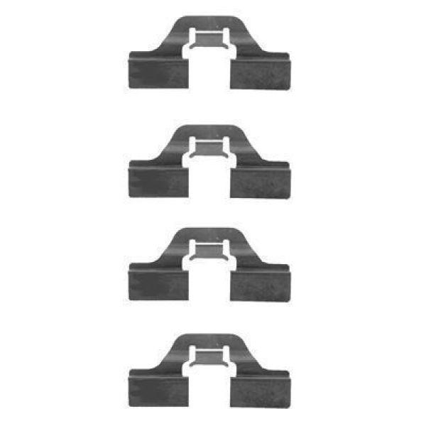 Remblok-montageset achterzijde VW VOLKSWAGEN QUANTUM 2.0 Álcool