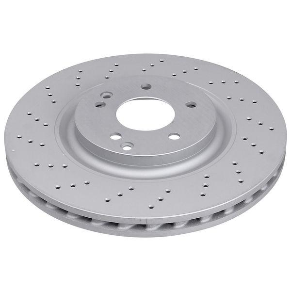 Geperforeerde remschijven voorzijde Sport kwaliteit MERCEDES-BENZ SLK (R171) 200 Kompressor
