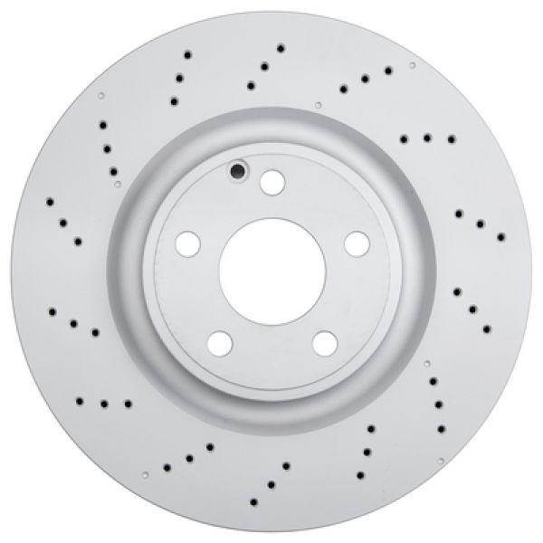 Remschijven voorzijde originele kwaliteit MERCEDES-BENZ SLK (R172) 250 CDI / d