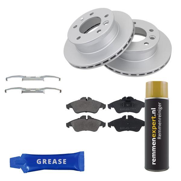 Voordeelpakket remschijven & remblokken voorzijde MERCEDES-BENZ SPRINTER 4-t Open laadbak/ Chassis (904) 410 D