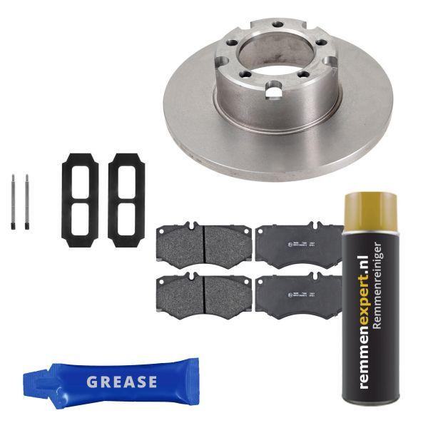 Voordeelpakket remschijven & remblokken voorzijde MERCEDES-BENZ T1 Open laadbak/ Chassis (602) 308 D 2.3