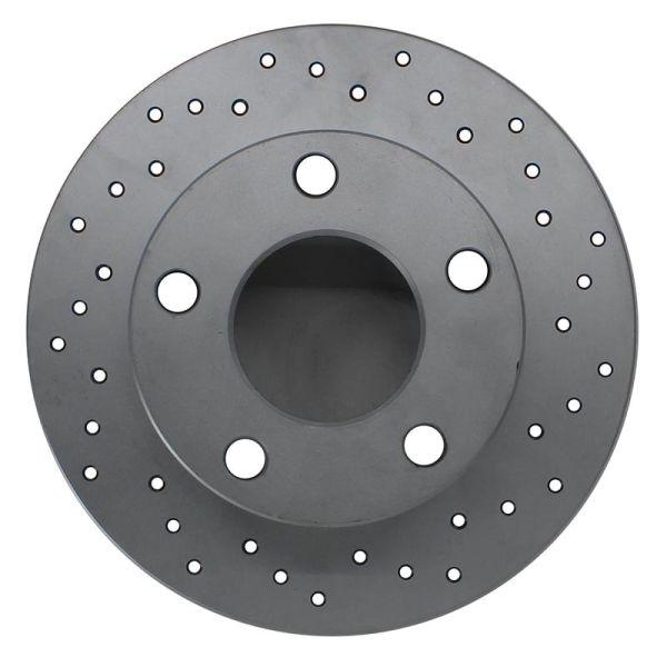 Geperforeerde remschijven achterzijde Sport kwaliteit MERCEDES-BENZ V-KLASSE (W447) V 250 BlueTEC / d 4-matic