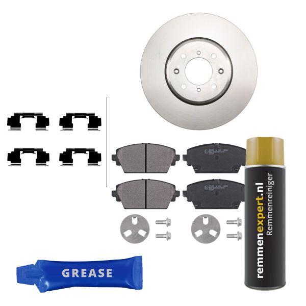 Voordeelpakket remschijven & remblokken voorzijde MG MG ZR 160