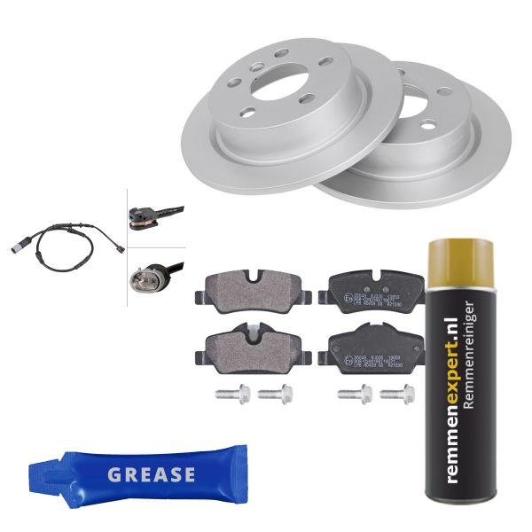 Voordeelpakket remschijven & remblokken achterzijde MINI MINI Cooper S