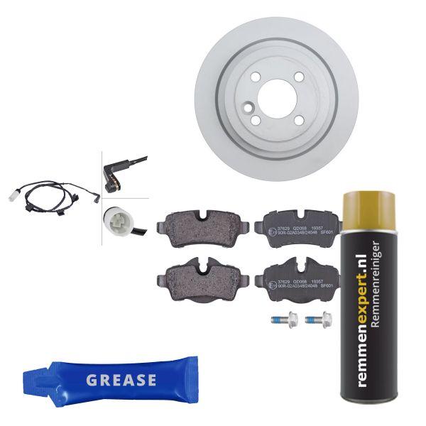 Voordeelpakket remschijven & remblokken achterzijde MINI MINI Roadster Cooper S