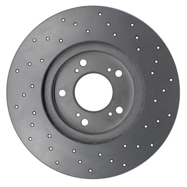 Geperforeerde remschijven voorzijde Sport kwaliteit MITSUBISHI LANCER VIII 1.8 Flexfuel