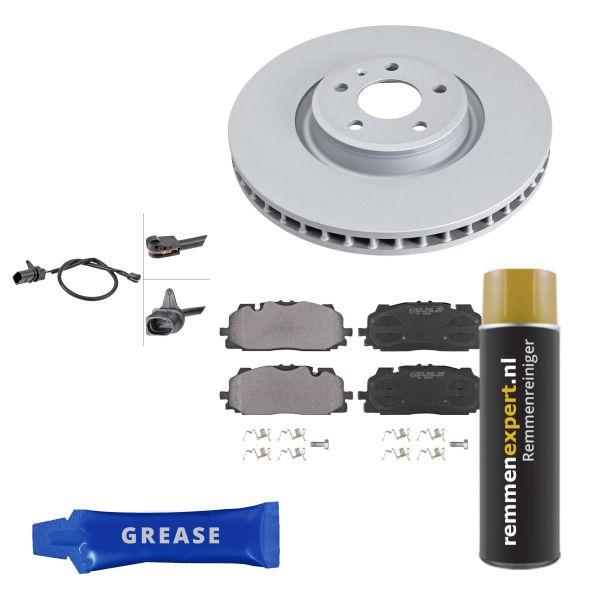 Voordeelpakket remschijven & remblokken voorzijde VW VOLKSWAGEN TOUAREG (CR7) 3.0 TDI 4motion