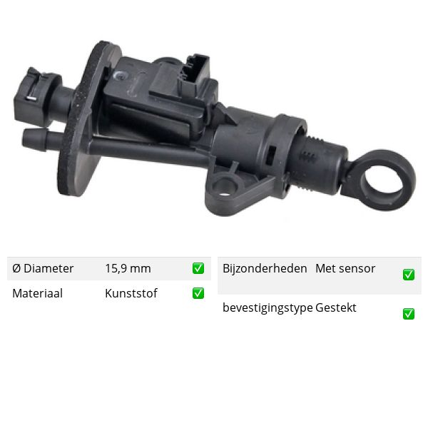 Koppelingcilinder -pedaal voorzijde VW VOLKSWAGEN T-ROC (A11) 2.0 TDI